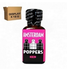 AMSTERDAM POPPERS 24 ML ( Display de 18 U )