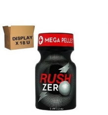 RUSH ZERO 10 ml ( Display of 18 U )