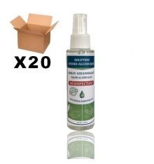 HYDROALCOHOLIC SPRAYS OF 100 ML - BOX OF 20 UNITS