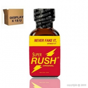 SUPER RUSH ORIGINAL 25ML (18U)