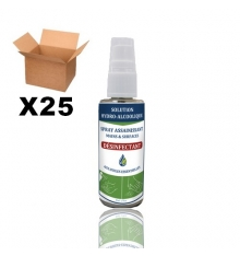 HYDROALCOHOLIC SPRAYS OF 50 ML - BOX OF 25 UNITS