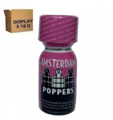 AMSTERDAM POPPERS 13 ML ( Display de 18 U )