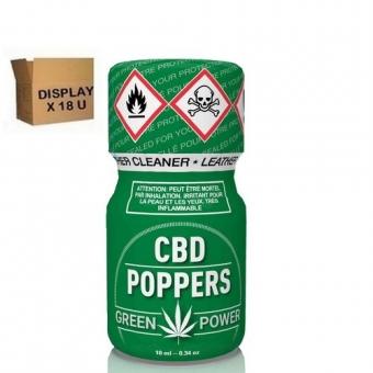 CBD POPPERS 10 ml  ( 18 u )