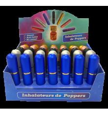DISPLAY X 35 ALUMINUM POPPER INHALERS